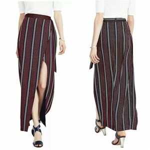 Banana Republic Side Slit Wrap Maxi Skirt